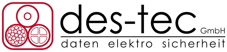 des-tec GmbH | daten elektro sicherheit